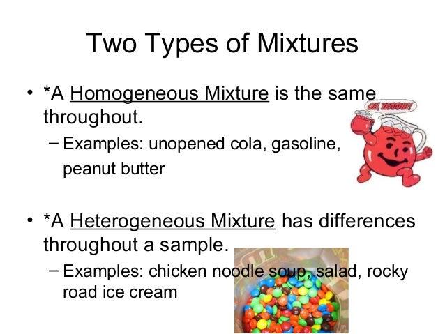 Examples Of Heterogeneous Mixture | www.imgkid.com - The ...