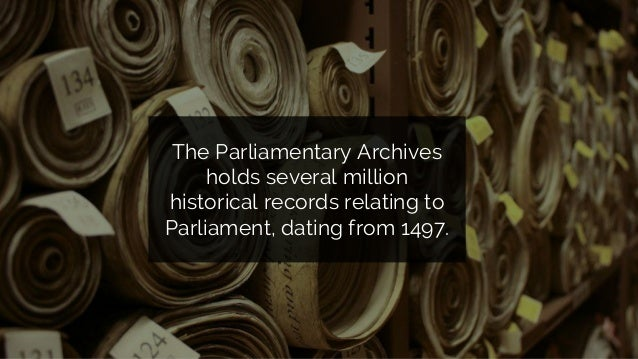 Understanding the users of the Parliamentary Web Archive: a user research project report Slide 2