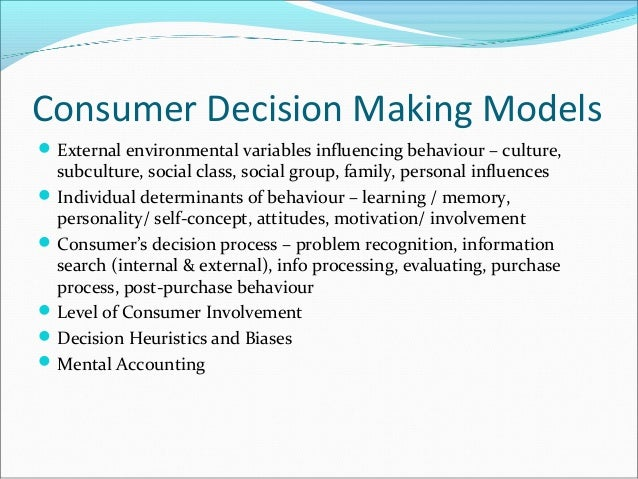 blackwell miniard and engel decision making model essay We will write a custom essay sample on blackwell, miniard, and engel decision-making model specifically for you for only $1638 $139/page.
