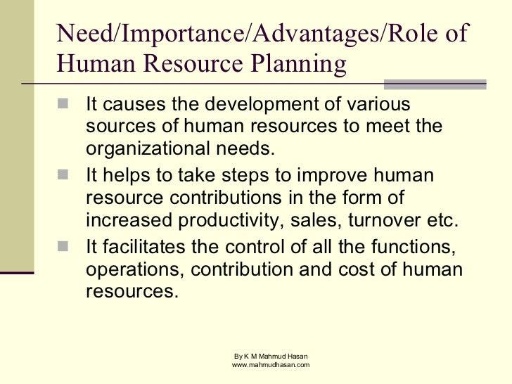 importance of manpower development
