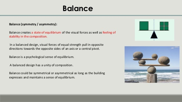 Principles of composition -Theory of Architecture  Principles of c...
