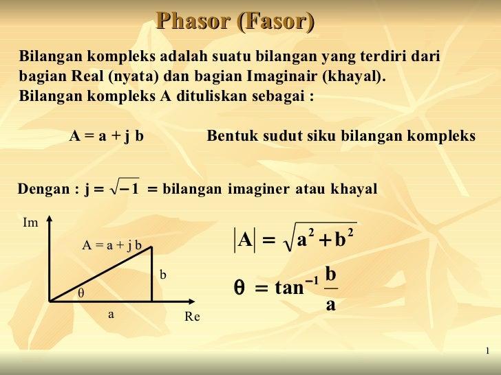 Ii rangkaian listrik fasor phasor fasor bilangan kompleks adalah suatu bilangan yang terdiri dari bagian real nyata ccuart Image collections