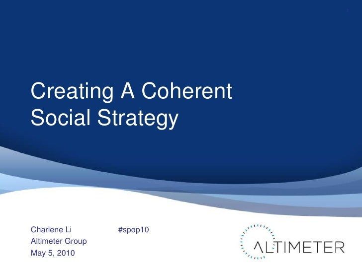 Open Leadership<br />How Social Technology Can Transform The Way You Lead<br />Charlene Li<br />Altimeter Group<br />May 4...