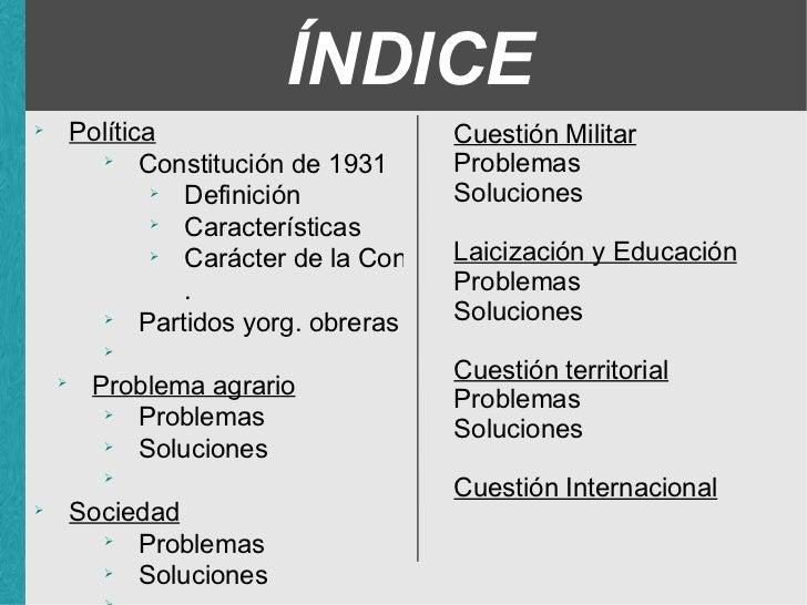 II republica Slide 2