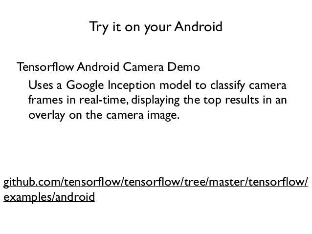 Google TensorFlow Tutorial