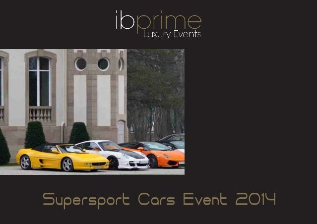 Ii supersport cars event   2014 special cars 2