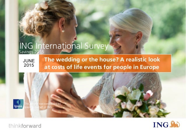 ING International Survey Savings (2015) 1 This survey was conducted by Ipsos on behalf of ING ING International Survey JUN...