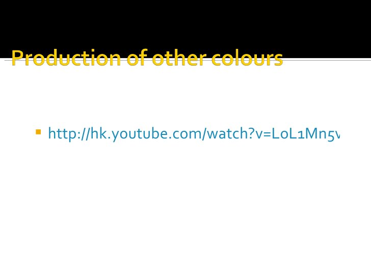 <ul><li>http://hk.youtube.com/watch?v=LoL1Mn5v6GY   </li></ul>