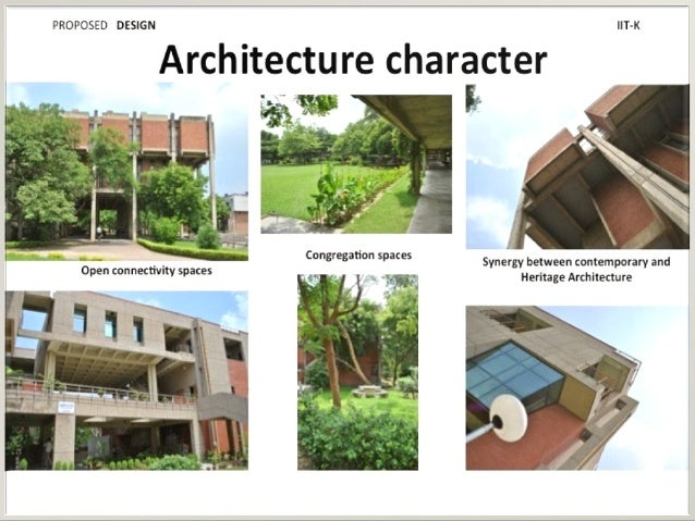 Iitk case study for J j school of architecture