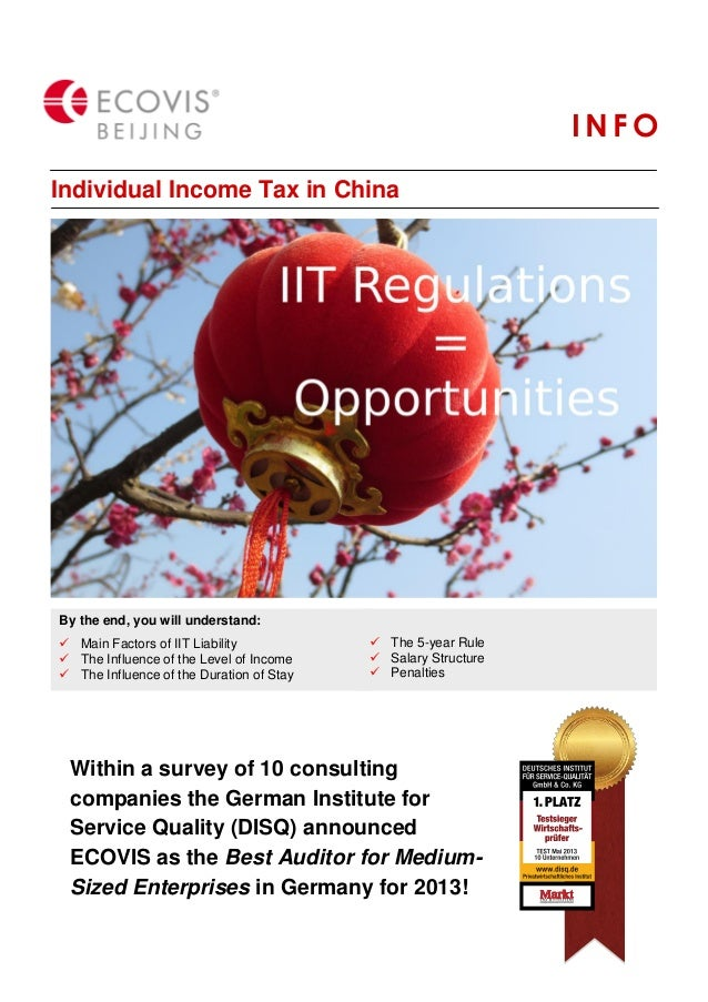 INFO Individual Income Tax in China  Client logos  By the end, you will understand:  Main Factors of IIT Liability  The ...