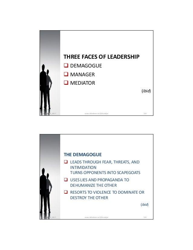 II. The Essence of Leadership 2017