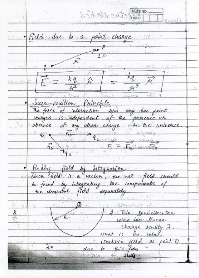 IIT JEE PHYSICS CLASS NOTES BY Er  AMBARISH SRIVASTAVA PART 4