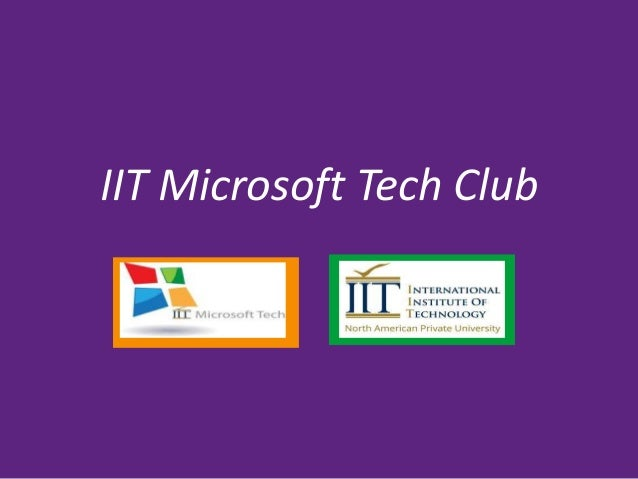 IIT Microsoft Tech Club