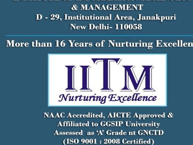 ITM CAMPUS Institute was set up in 1999 By Mata Shree Leelawati Shikshan Sansthan, a registered education society, engaged...