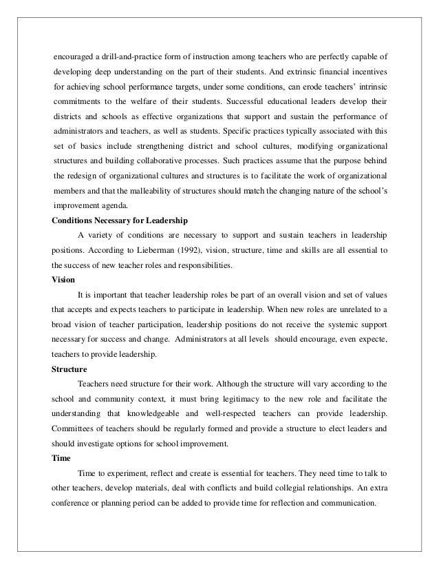 EDUFEST 2015 at IIT MADRAS - Paper Presentation on Teacher leader- A…