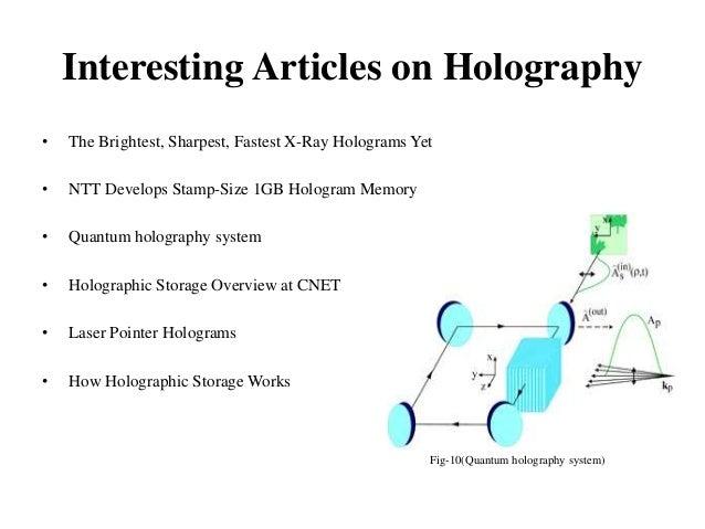Regeneration of hologram from a slice