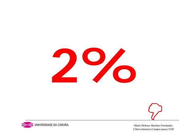 Cibervoluntaria Campus peace UOCMaría Dolores Sánchez Fernández2%