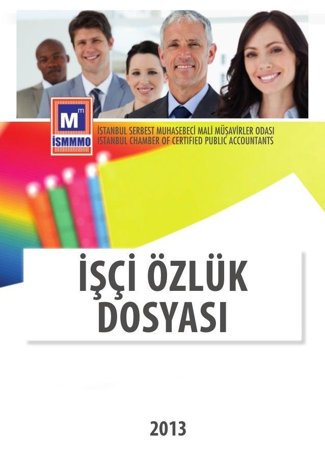 İŞÇİ ÖZLÜK DOSYASI 2013