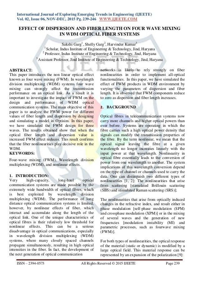 International Journal of Exploring Emerging Trends in Engineering (IJEETE) Vol. 02, Issue 06, NOV-DEC, 2015 Pg. 239-246 WW...