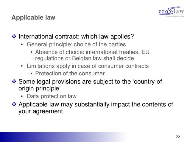 jurisdiction and competence applicable international laws and source Able to provide a source of law conducive to international  no jurisdiction better  appreciates the value of uniform trade standards in minimizing uncertainty in the   to impose a duty that was not fairly fixed in the applicable statute because it.