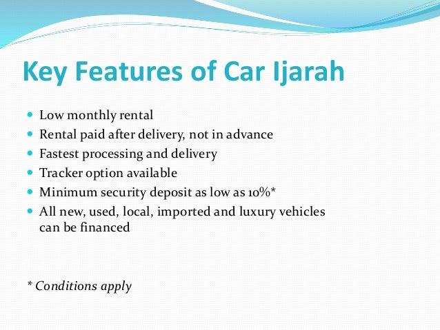 Financed Car Definition >> Ijarah
