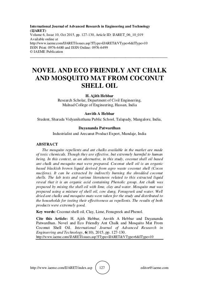 http://www.iaeme.com/IJARET/index.asp 127 editor@iaeme.com International Journal of Advanced Research in Engineering and T...