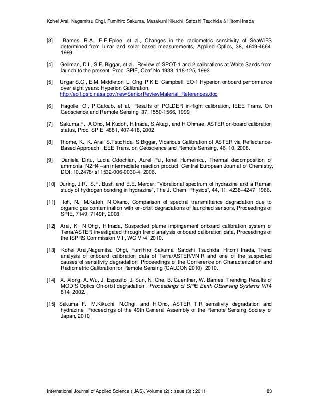 Kohei Arai, Nagamitsu Ohgi, Fumihiro Sakuma, Masakuni Kikuchi, Satoshi Tsuchida & Hitomi Inada International Journal of Ap...