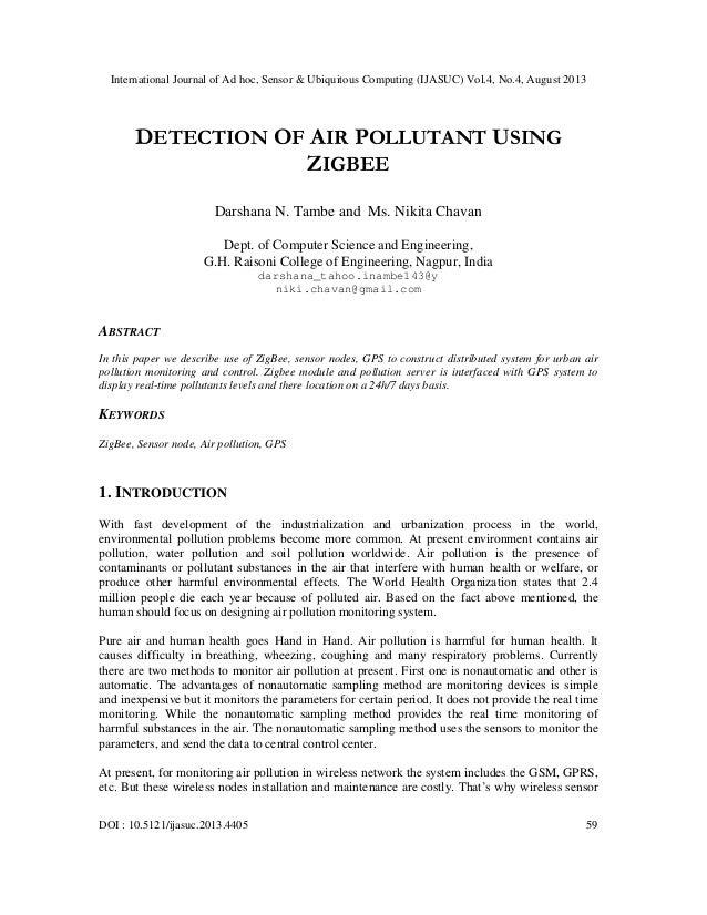 International Journal of Ad hoc, Sensor & Ubiquitous Computing (IJASUC) Vol.4, No.4, August 2013 DOI : 10.5121/ijasuc.2013...