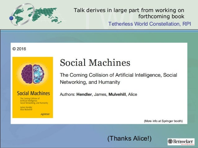 Knowledge Representation in the Age of Deep Learning, Watson, and the Semantic Web Slide 3