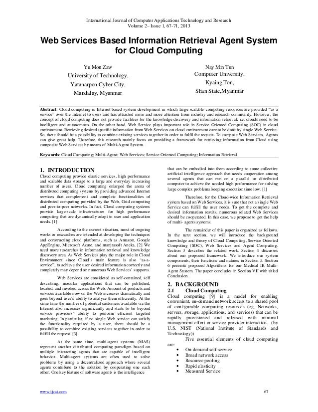 International Journal of Computer Applications Technology and ResearchVolume 2– Issue 1, 67-71, 2013www.ijcat.com 67Web Se...