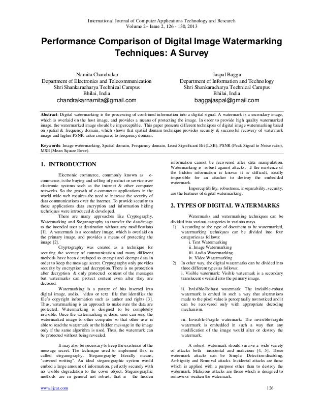 International Journal of Computer Applications Technology and ResearchVolume 2– Issue 2, 126 - 130, 2013www.ijcat.com 126P...