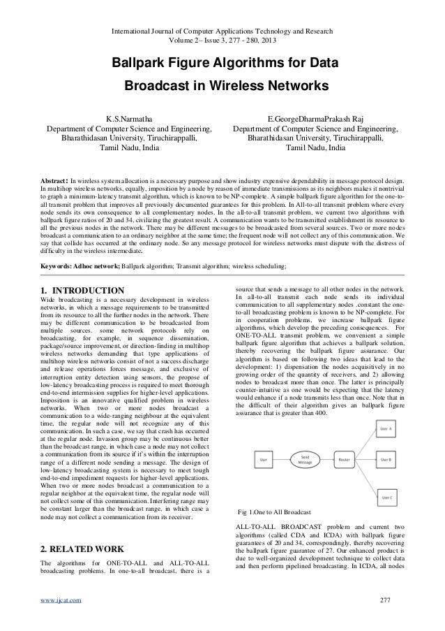 International Journal of Computer Applications Technology and ResearchVolume 2– Issue 3, 277 - 280, 2013www.ijcat.com 277B...
