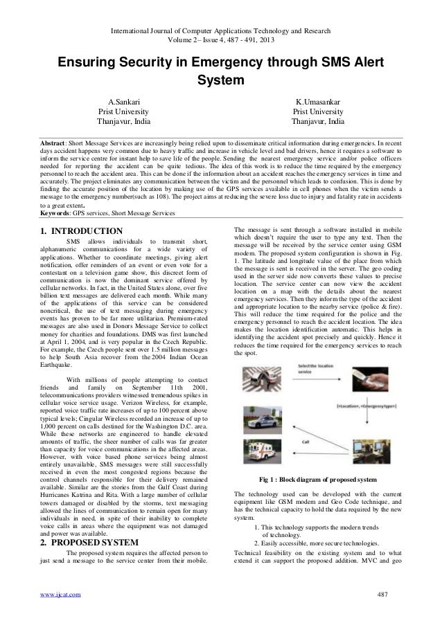 International Journal of Computer Applications Technology and Research Volume 2– Issue 4, 487 - 491, 2013 www.ijcat.com 48...