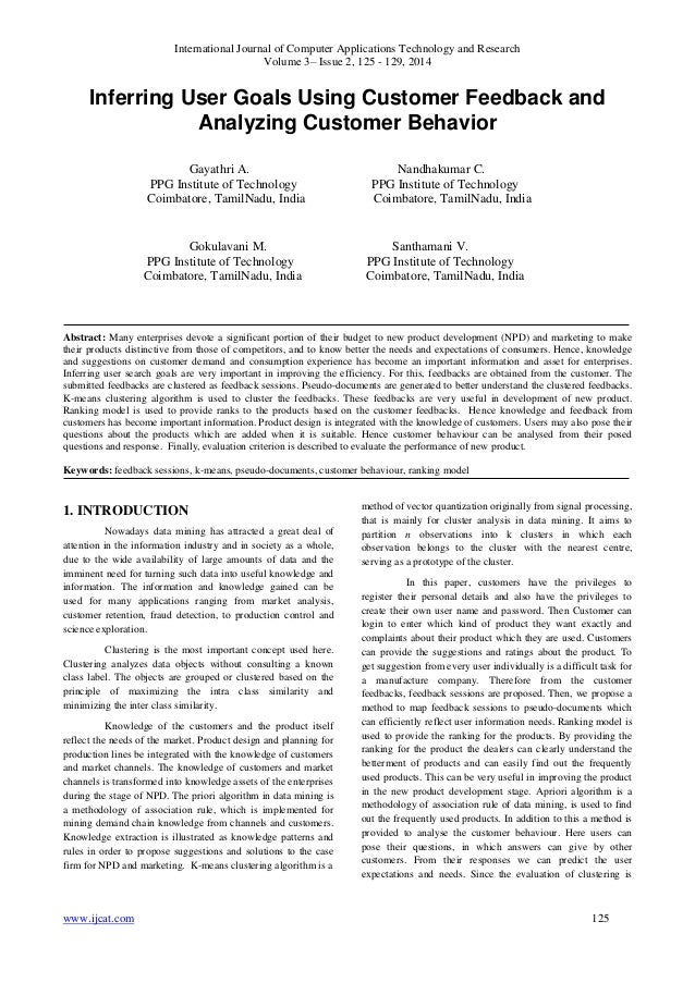 International Journal of Computer Applications Technology and Research Volume 3– Issue 2, 125 - 129, 2014 www.ijcat.com 12...