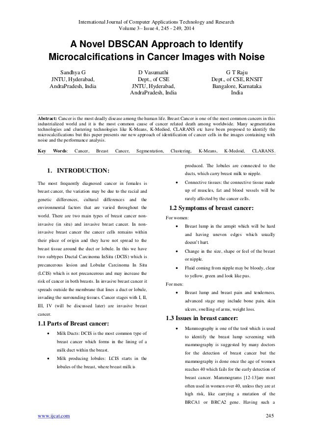 International Journal of Computer Applications Technology and Research Volume 3– Issue 4, 245 - 249, 2014 www.ijcat.com 24...