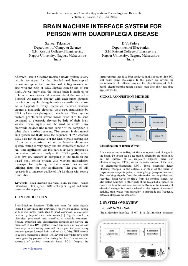 International Journal of Computer Applications Technology and Research Volume 3– Issue 6, 339 - 344, 2014 www.ijcat.com 33...