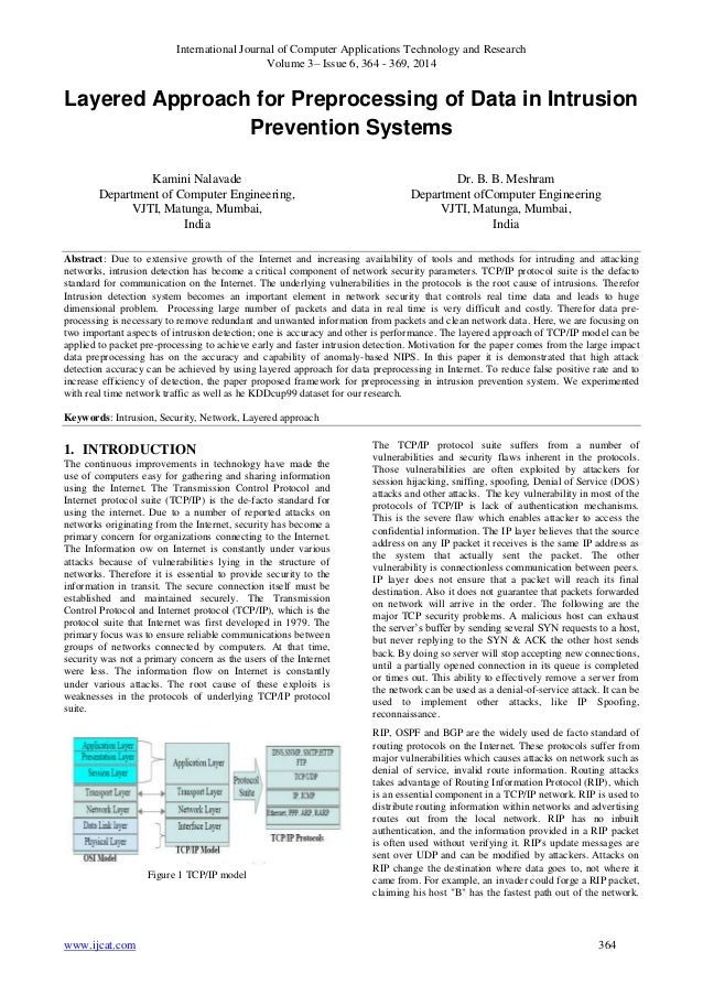 International Journal of Computer Applications Technology and Research Volume 3– Issue 6, 364 - 369, 2014 www.ijcat.com 36...
