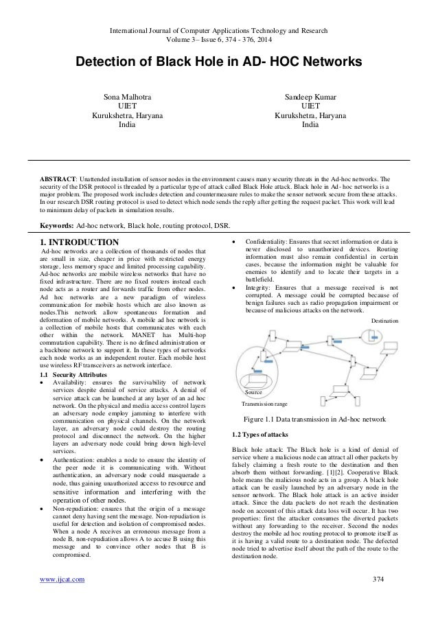 International Journal of Computer Applications Technology and Research Volume 3– Issue 6, 374 - 376, 2014 www.ijcat.com 37...