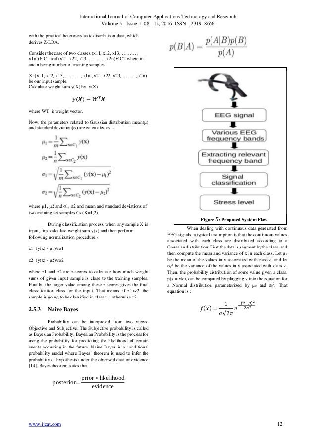 Feature Extraction Techniques and Classification Algorithms for EEG S…