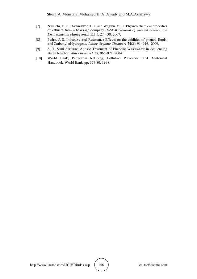 Sherif A. Moustafa, Mohamed H. Al Awady and M.A.Ashmawy http://www.iaeme.com/IJCIET/index.asp 146 editor@iaeme.com [7] Nwa...