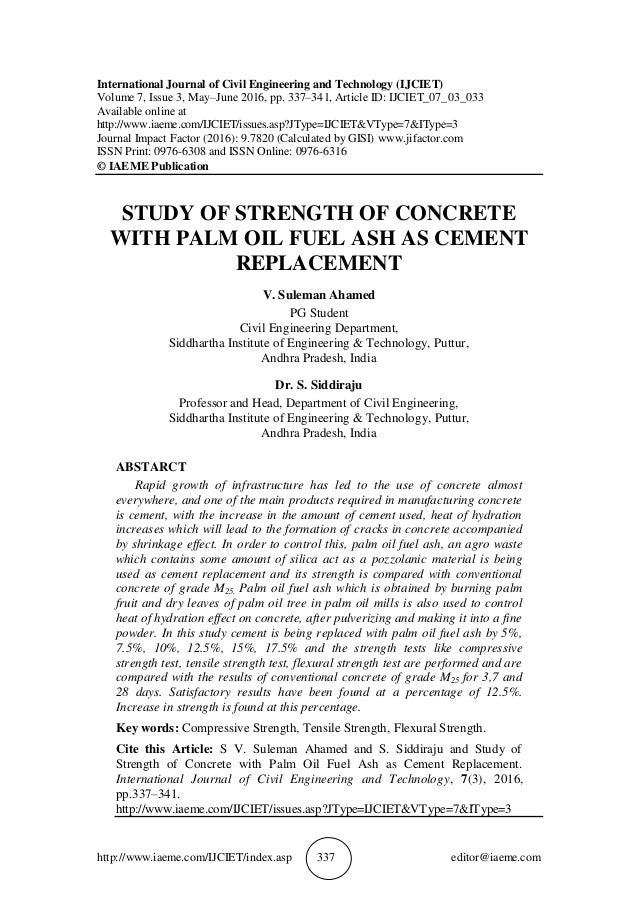 a study of cement Environmental accounting –a case study of cement sector in india  the study  understands the customised application of kyoto protocol which results in the.