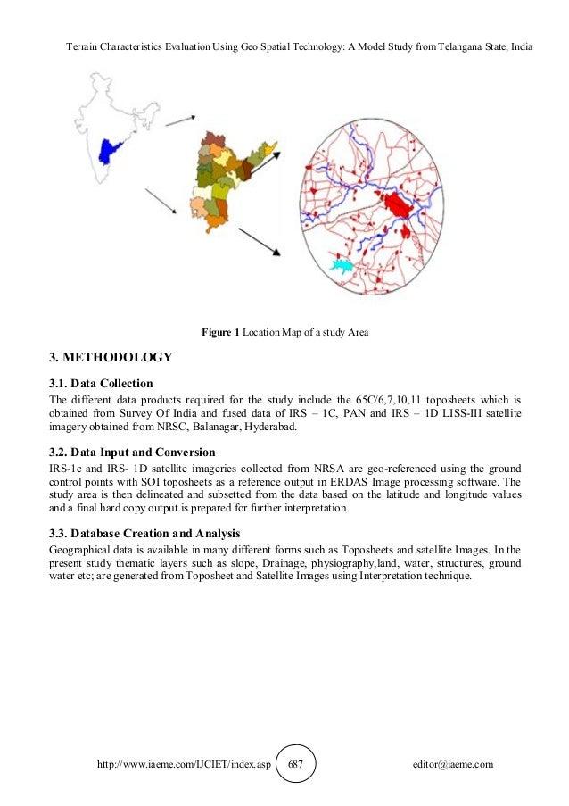 Terrain Characteristics Evaluation Using Geo Spatial