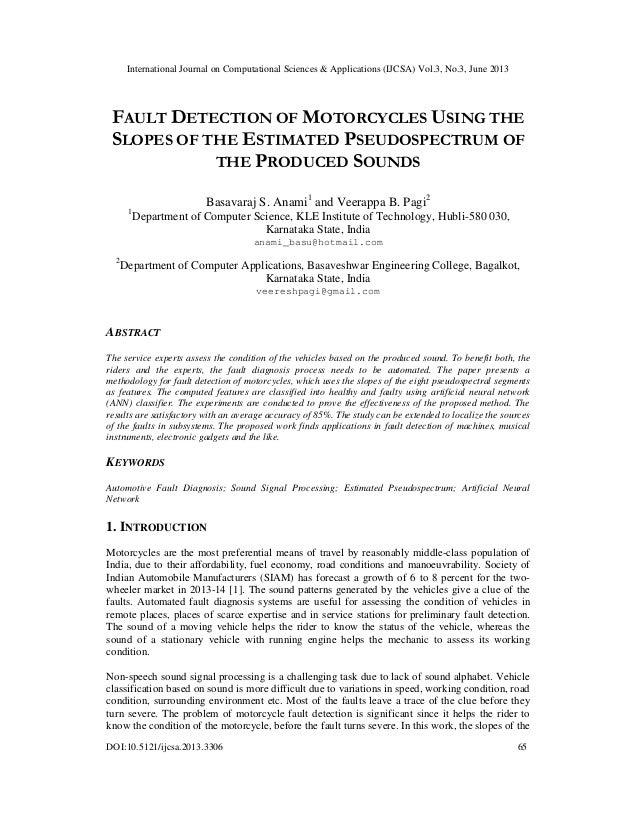International Journal on Computational Sciences & Applications (IJCSA) Vol.3, No.3, June 2013 DOI:10.5121/ijcsa.2013.3306 ...