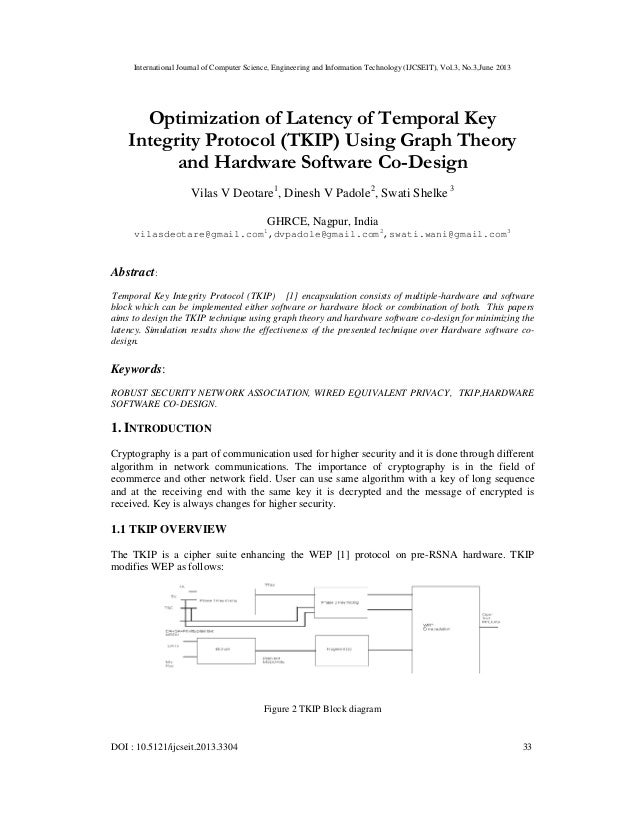 International Journal of Computer Science, Engineering and Information Technology (IJCSEIT), Vol.3, No.3,June 2013 DOI : 1...