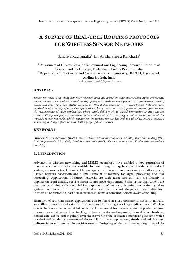 International Journal of Computer Science & Engineering Survey (IJCSES) Vol.4, No.3, June 2013 DOI : 10.5121/ijcses.2013.4...