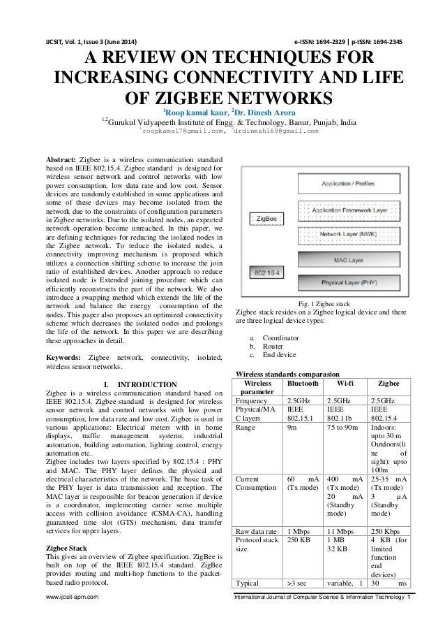 www.ijcsit-apm.com International Journal of Computer Science & Information Technology 1 IJCSIT, Vol. 1, Issue 3 (June 2014...