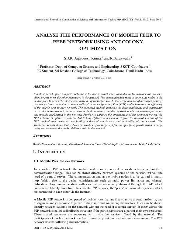 International Journal of Computational Science and Information Technology (IJCSITY) Vol.1, No.2, May 2013DOI : 10.5121/ijc...