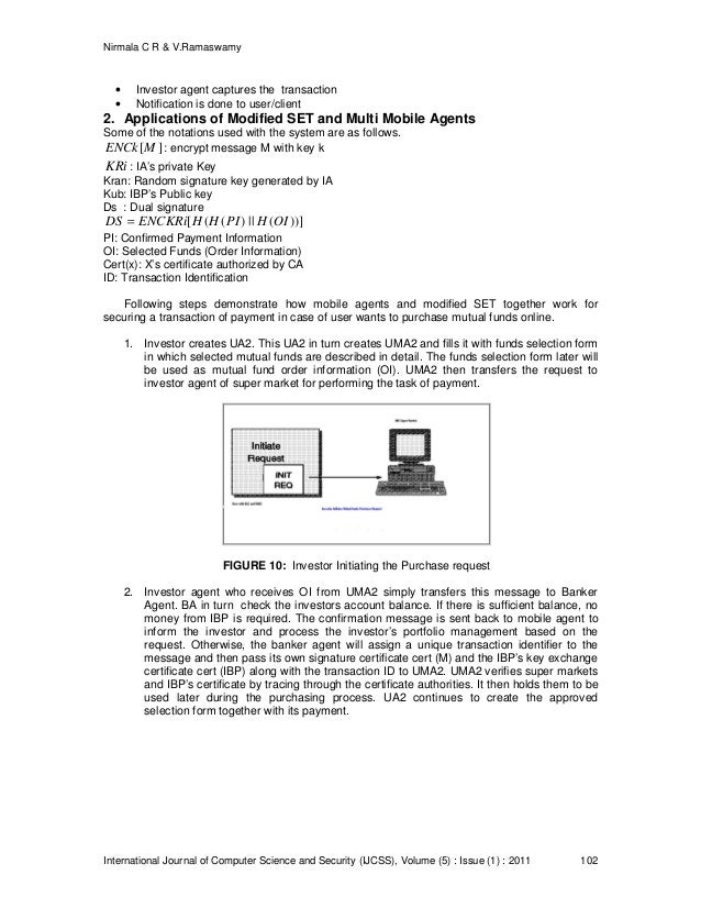 thesis on mobile agent security Abstract—the security issues of mobile agent systems have embarrassed its  widespread implementation  thesis, dept of cs, univ of princeton, jan 1999.