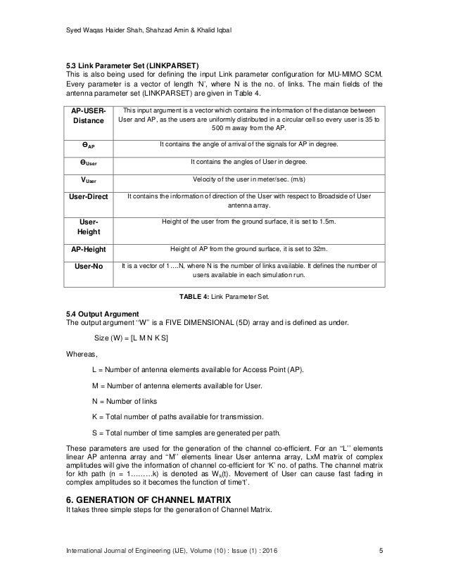 Syed Waqas Haider Shah, Shahzad Amin & Khalid Iqbal International Journal of Engineering (IJE), Volume (10) : Issue (1) : ...