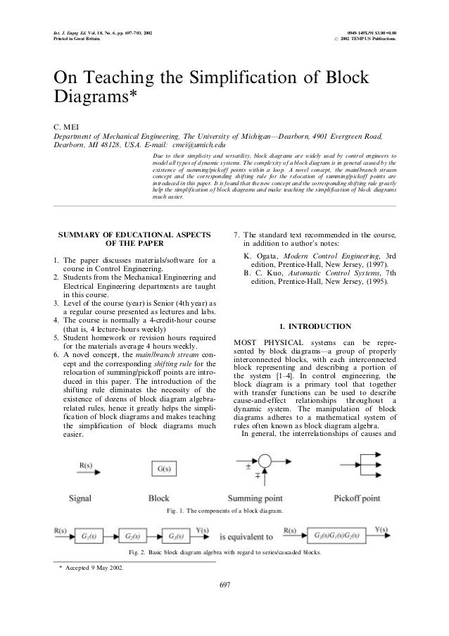 Int. J. Engng Ed. Vol. 18, No. 6, pp. 697±703, 2002                                                                       ...